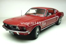 Ford Mustang GT 390 1968 (red)