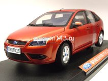 Ford Focus 5door hatchback 2007 (Red)
