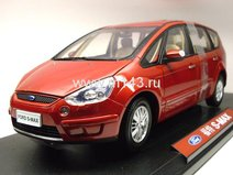 Ford S-MAX 2007, 5 seats (Red)