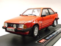 Ford Escort XR3i седан 1983г. (sunburst red)