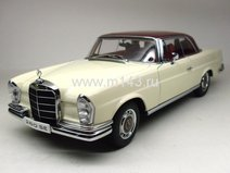 Mercedes-Benz 280SE Coupe 1968 (white/red roof)