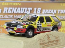 Renault 18 (1983) TURBO Claude Bernard MARREAU