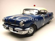 "Pontiac Star Chief ""Полиция"" седан 1955г. (бело-синий)"