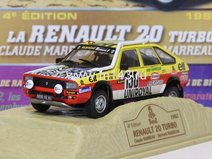 Renault 20 Turbo Claude Bernard MARREAU - 1982
