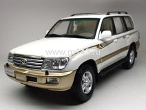 Toyota Land Cruiser 100, 2005 (White)