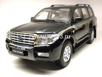 Toyota Land Cruiser 200, 2008 (Black)