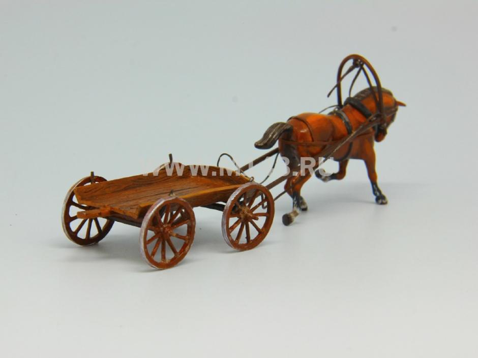 лошадь с телегой картинки