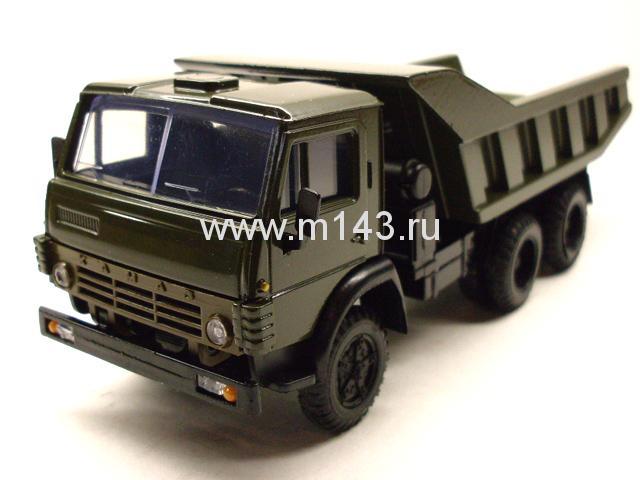 Купить масштабную модель КамАЗ 5511 самосвал (хаки)