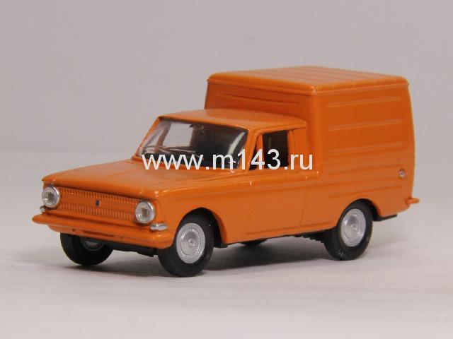 1780. Нравится.  ИЖ-2715 оранжевый, масштабная модель.  Конверсия.  Фото сделаны с предлагаемой модели!