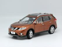 Nissan X-Trail (2014) Brown 1/18